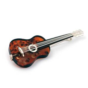 Classical Guitar Brooch